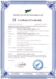 Certificate and Warranty