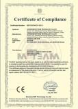 DVR CE certificate