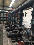 butterfly valves on site