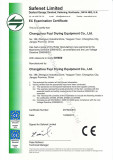 CE certificate for DH series granulator