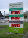 Gas Price LED Display
