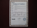 ROHS certificate for unicycle