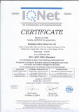 ISO14001: 2004 Certificate
