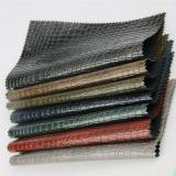 Embossed PU PVC Croco Leather for bag handbag