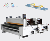 UV coating machine for PVC floor tile production machinery