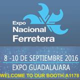 Expo Nacional Ferretera Booth No.:A1178