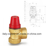 Brass safety air vent valve