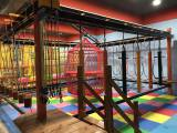 Indoor rope playground for kid