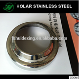 Stainless steel handrail base plate cover