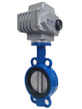 Installation and operation of electric butterfly valves
