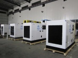 Five sets 100KVA Cummins genset for UNHCR