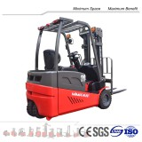 full AC electric forklift truck 2 t with 3 wheels