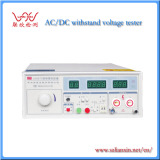AC/DC withstand voltage tester
