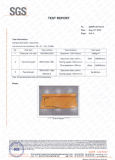 SGS Material Test Report
