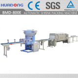 BMD-800E Automatic Bottom Lap Sealing & Shrink Packing Machine
