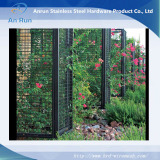 pvc coated weld wire mesh panel for garden fence