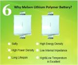 Melsen lithium pouch cell advantage