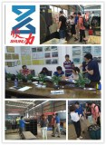 customer come to vist our factory