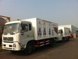 Our Van truck exported to Angola market