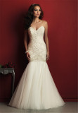 2016 Latest High Quality Tulle Mermaid Wedding Dresses (Dream-100028)