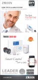 GSM & PSTN Dual-Net Alarm System with APP Control