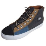 Professional OEM/ODM Stylish Blue/Khaki/Grey Canvas Shoes Rubber Soles for Sneakers