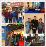 Cooperation of customers and participate in the exhibition