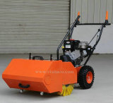 gasoline sweeper with dust collection