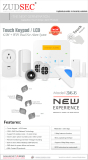 2016 Newest GSM & WiFi Dual-Net Alarm System -Touch Keypad/APP Control