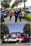 8k.m. walking event which named after LOVE in DE YUAN