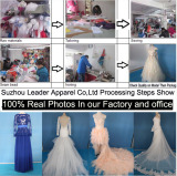 Processing Show in Our Factory for Wedding Evening Dresses Gowns