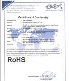 RoHS for LED Panel Light