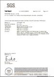 PETG SGS Test Report