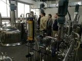Russian customers visit 10KL stainless steel fermenters