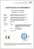 ce certificate for relays