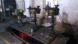 drilling machine and threading machine