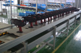 Rebar tying machine assemble line