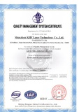 ISO 90000 Certificate
