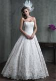 Elegant Lace appliques and Satin Bridal Dresses (Dream-100025)