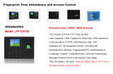 Promotion of economical biometric fingerprint time attendance