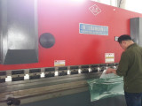 polycarbonate machine for bending