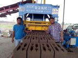 QT4-15D block machine in India