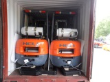 Complete Heli Forklifts Container Loading