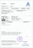 TUV Certificates of solar module