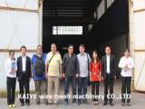 Kazakhstan customer to visit the factory