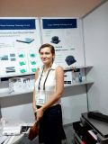 Customer in Exhibition
