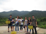Nord Group went to Pick red bayberries on June,22th,2013 in Dongqian Lake