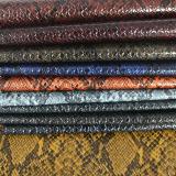Fashionable High quality Snake PU Leather for bag handbag