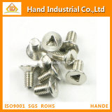 Stainless Steel screw Triangle Type Csk Head Tamper Proof Security Screws
