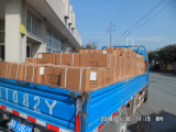 A Freight Truck Going to the Shipping Port
